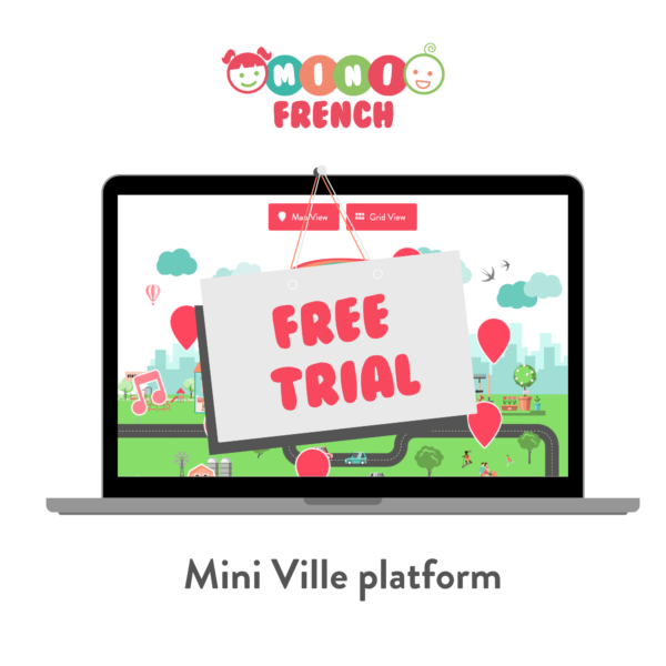 French platform for kids to learn French
