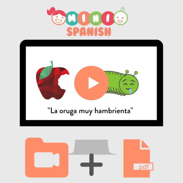 Spanish Kids Video Audio Book