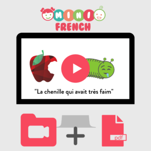 French for kids online activity