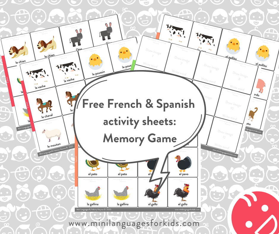 Free French activity sheets