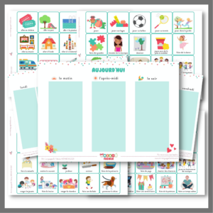 French Daily Planner